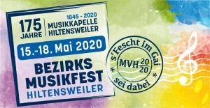 Bezirksmusikfest 2020 - 175 Jahre Musikkapelle Hiltensweiler